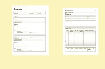 Ficha de parámetros tipográficos
