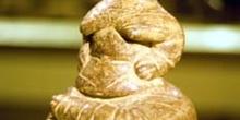 ídolo neolítico, Museo Arqueológico de Hierapetra, Creta