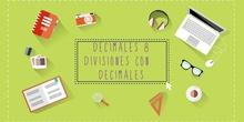 LOS DECIMALES 8. DIVISIÓN DE DECIMALES