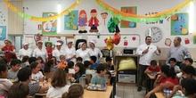 Visita del chef Sergio Fernández - Nutrifriends en el Comedor 21