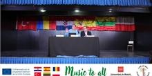 """Presentación proyecto Erasmus+ KA229 """"Music to all"""""""
