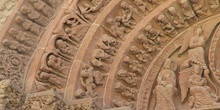 Portada de la iglesia de Santo Domingo de Soria