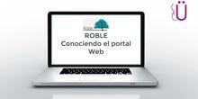 Conociendo el portal Web Roble / Raíces para padres