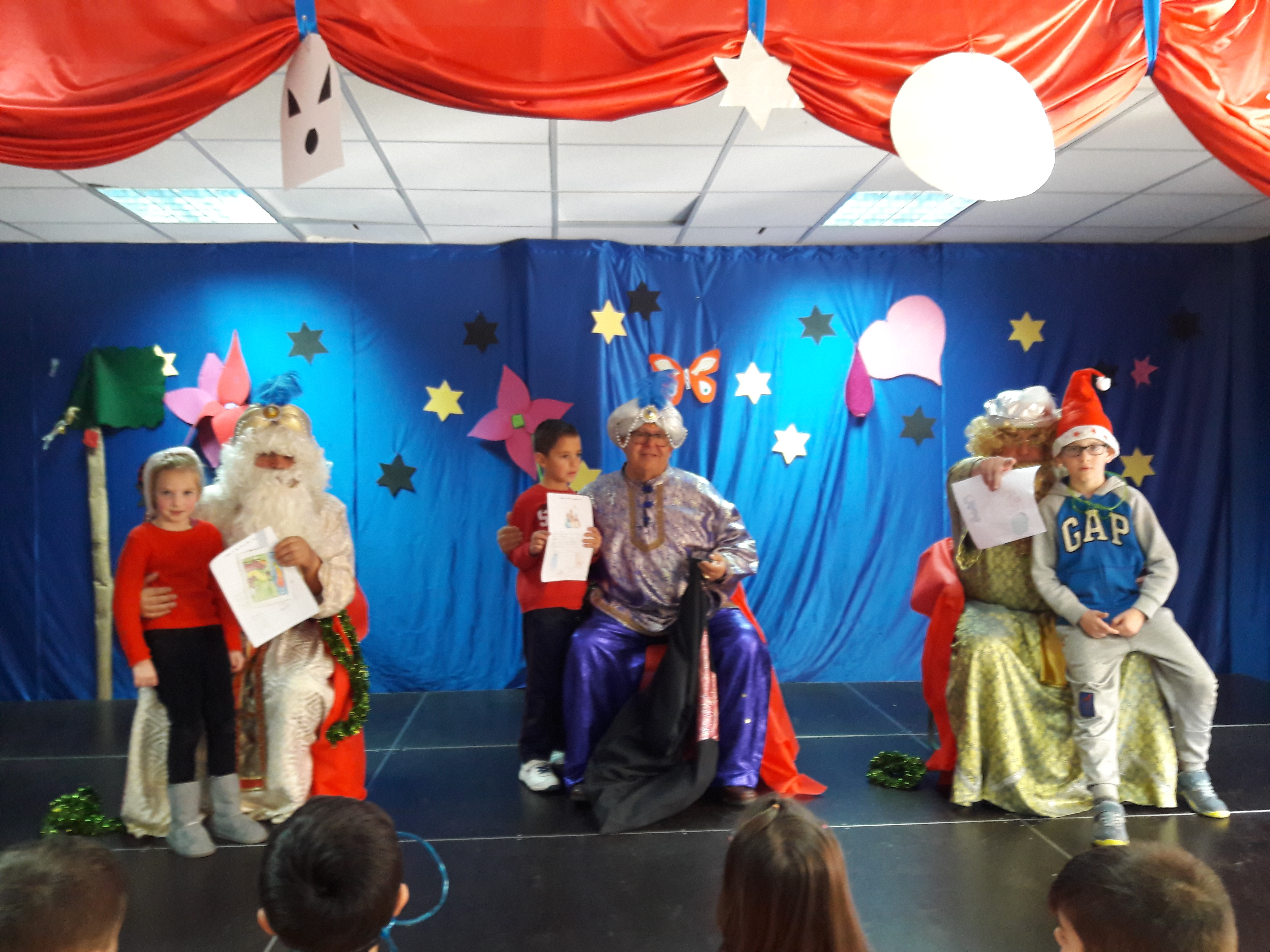 The Three Wise Men come to School 10