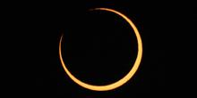 Fase central del eclipse anular 06