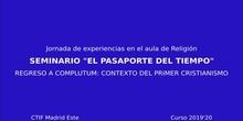 Seminario el pasaporte del tiempo: Regreso a Complutum