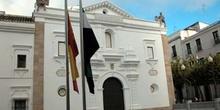 Exterior de la Asamblea de Extremadura