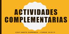 Actividades complementarias 2018-2019