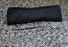 Reverso de cartera forrada de bolsillo plastrón