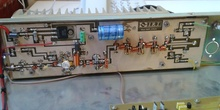 Amplificador lineal de 20 W de FM comercial polarizado en clase C