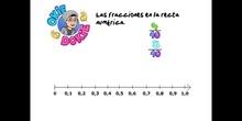 PRIMARIA - 6º - FRACCIONES EN LA RECTA NUMÉRICA - MATEMÁTICAS - FORMACIÓN