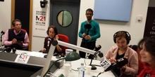 SALIMOS EN LA RADIO