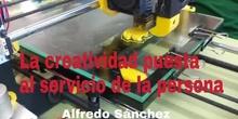 Impresión 3D: La creatividad puesta al servicio de la persona (Alfredo Sánchez)