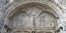 Arco de entrada al Monasterio de los Jeronimos, Lisboa, Portugal