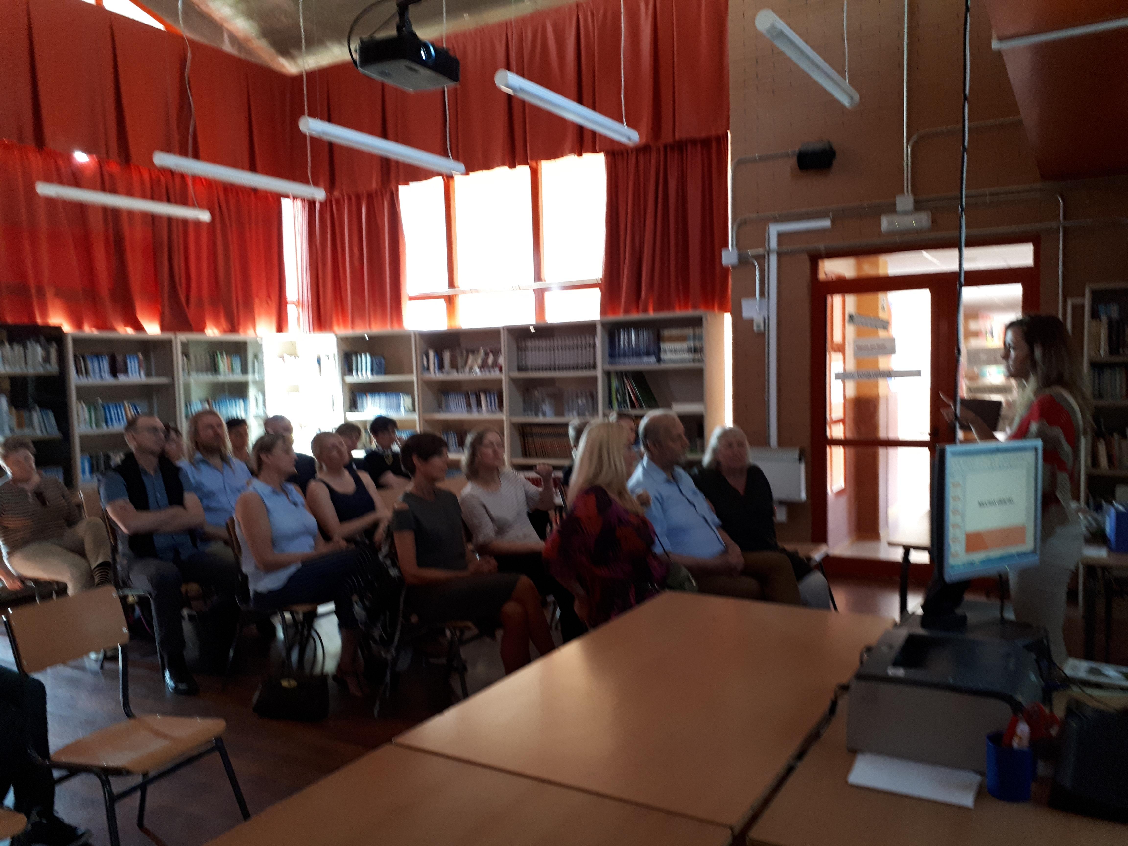 Visita profesores daneses 2018