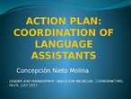 coordination of language assistants at