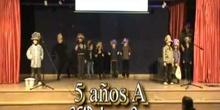 MONKEYS Canción en inglés 5 años A CEIP Juan Gris de Madrid