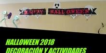 Decoración y actividades Halloween 2018