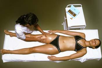 Vendas frías: extensión de la ampolla mediante masaje