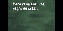 PRIMARIA - 6º - REGLA DE TRES - MATEMÁTICAS - FORMACIÓN.mov