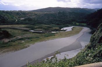 Estuario del río Barayo, Navia-Valdés, Principado de Asturias