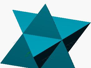 Estrella derivada del tetraedro
