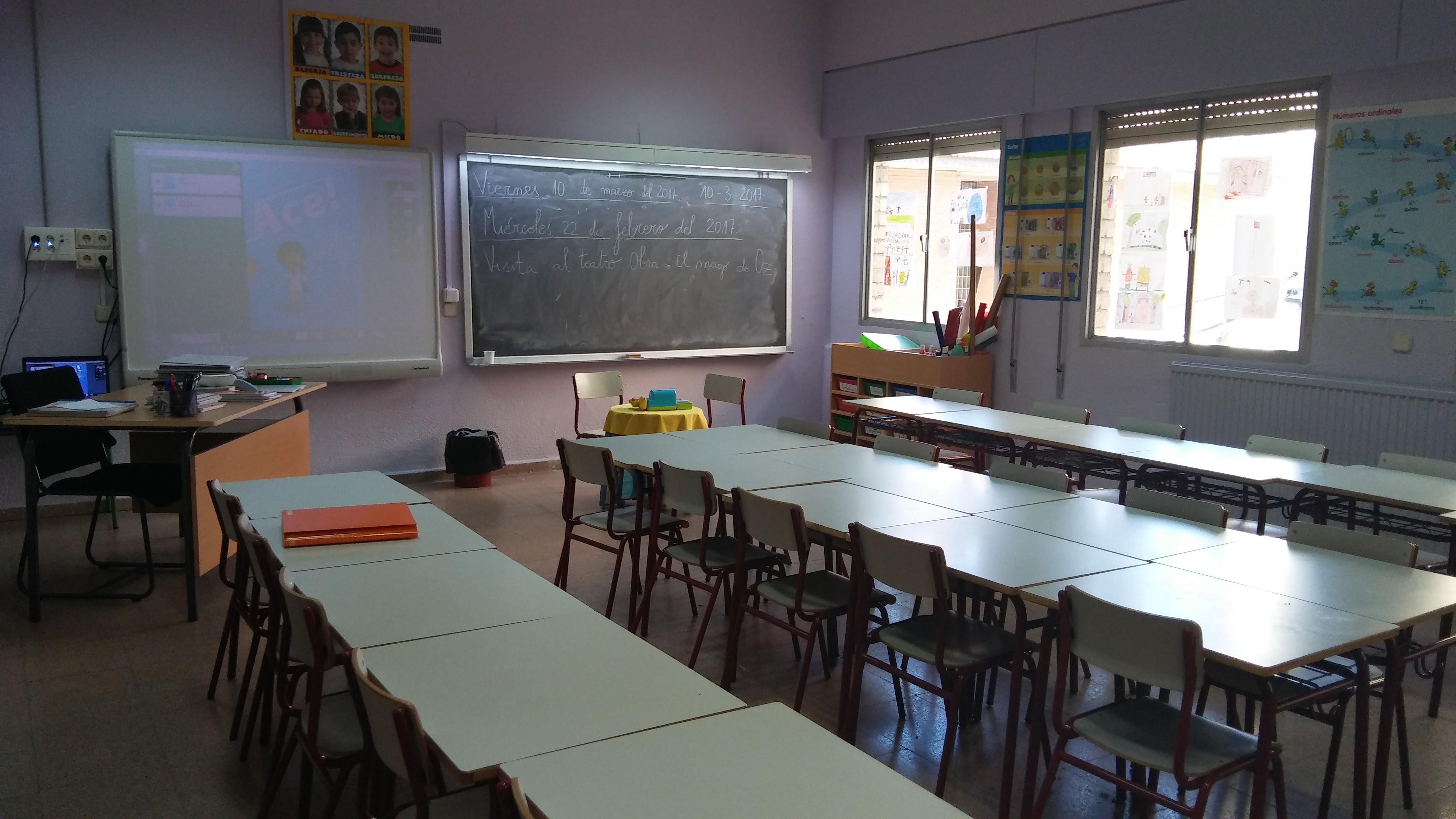 Aulas de Primaria 4