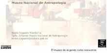 GUÍA DIDÁCTICA MUSEO NACIONAL ANTROPOLOGÍA_BELÉN SOGUERO