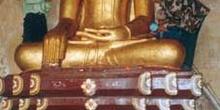 Buda recubierto de oro