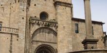 Fachada de la Catedral de Orense, Galicia