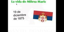 MUJERES PARA LA HISTORIA - MILEVA MARIC