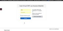 Acceso aula virtual CRIF Las Acacias