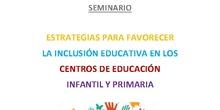 Seminario Estrategias para favorecer la Inclusión Educativa en CEIPs