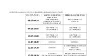 Fechas de exámenes PMAR 1-2