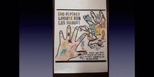 Bichitos de las manos de 1º