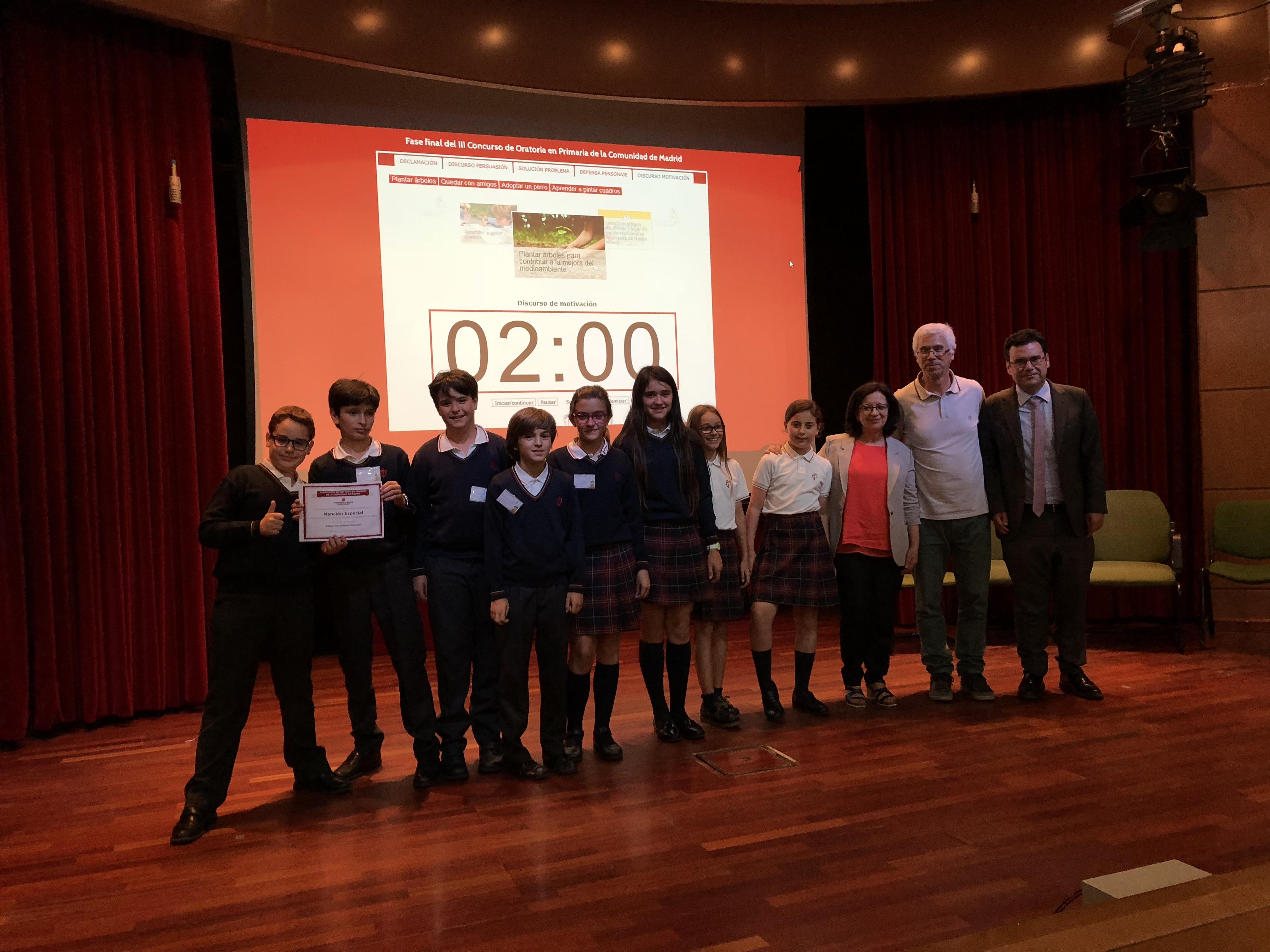 Fase final del III Concurso de Oratoria en Primaria de la Comunidad de Madrid 17