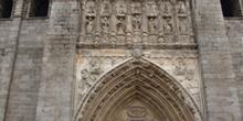 Puerta principal, Catedral ávila, Castilla y León