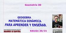 Iniciación a la geometría analítica 3D