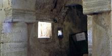Acceso a la tribuna de la iglesia de San Miguel de Lillo, Oviedo