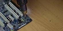 Desoldadura de componentes SMD
