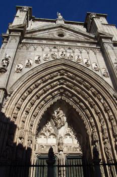 Puerta de los Leones, Catedral de Toledo, Castilla-La Mancha