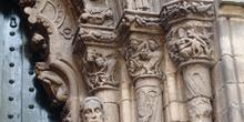 Arquivoltas de la Catedral de Orense, Galicia