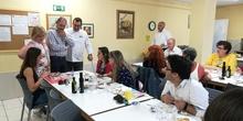 Visita del chef Sergio Fernández - Nutrifriends en el Comedor 16