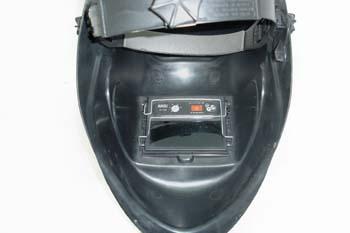 Careta de soldadura. Sistema de oscurecimiento automático