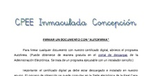 Tutorial - Firmar digitalmente con Autofirma