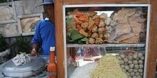 Puesto de comida, Java, Indonesia