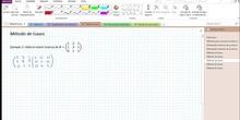 2Bto - 01 - Matrices - 13 - Método de Gauss II