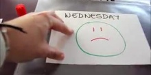 Days of the week - feelings
