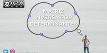 Inversa de una matriz por determinantes
