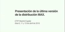 Mesa redonda sobre el presente y futuro de MAX